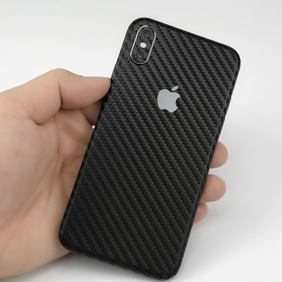 Carbon Fiber 3M Skin Decal For iPhone & AirPods NWT